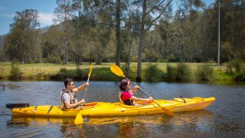 Eco Kayaking Adventure at Glenworth Valley
