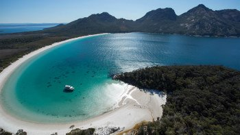 Freycinet Peninsula & Wineglass Bay Airplane Flight & Tasman Sea Cruise