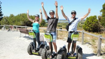 Rottnest Island Fortress Segway Tour & Bicycle Ride Package