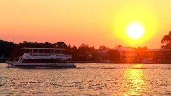 Mandurah Waterways Sunset Cruise with Optional Dinner