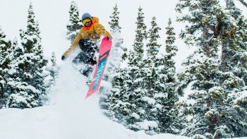 Steamboat Central Park Snowboard Rental Package