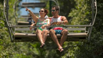 Tranopy Combo: Zipline, Bobsled & Sky Explorer Tour at Mystic Mountain