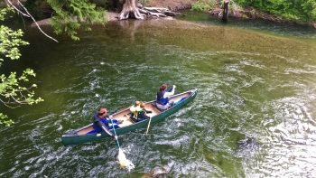 Self-Guided Canoe or Kayak Tour on River of Golden Dreams