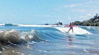 Surf Lesson at Manuel Antonio Beach