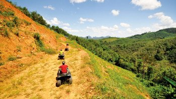 Morning Quad Bike Quad bike Tour in Phang Nga with Guide