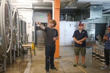 Morning Beer-unch Brewery Tour