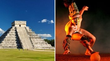 Chichén Itzá Express Tour & Xcaret Park Tickets Combo