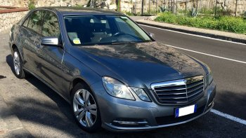 Private Standard Car: Naples Airport (NAP) - Amalfi Coast