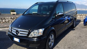 Private Minivan: Naples Airport (NAP) - Amalfi Coast
