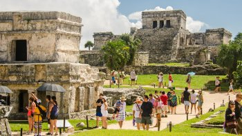 Day Trip to the Walled City of Tulum & Zacil-Ha Cenote