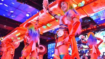 Robot Restaurant Show with Sushi Dinner