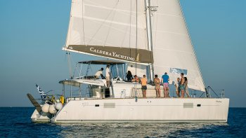 Gold Caldera Catamaran Cruise