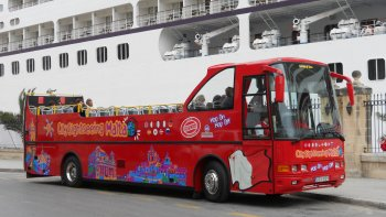 Shore Excursion: Malta Hop-On Hop-Off Bus Tour