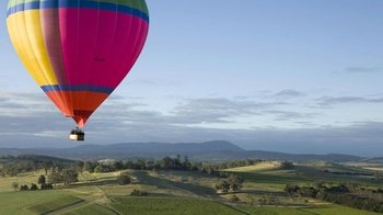 Private Hot Air Balloon Ride for Couples with Champagne & Canapes