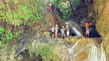 Guided Damajagua Waterfall Adventure with Lunch