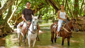 Samaná VIP Tour with Horseback Riding & Lunch