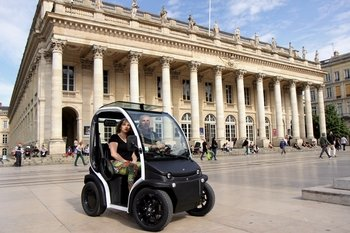 Self-Guided Extensive Electric Vehicle Tour of Bordeaux