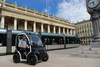 Self-Guided Electric Vehicle Tour of UNESCO-Listed Bordeaux