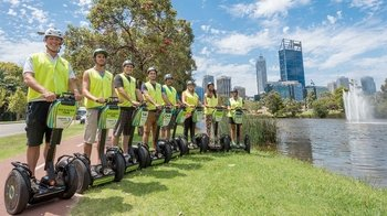 Elizabeth Quay, Mt Eliza & West Perth Segway Tour