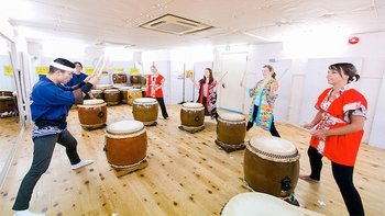 Taiko Traditional Japanese Drumming Experience
