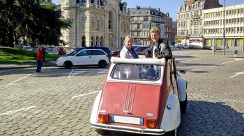 Private Tour of Lille in a Vintage Citroën 2CV with Local Tastings