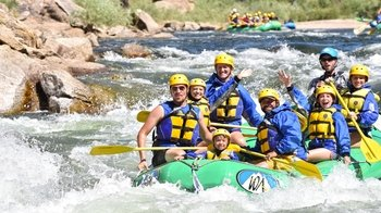 Whitewater Rafting Adventure in Browns Canyon
