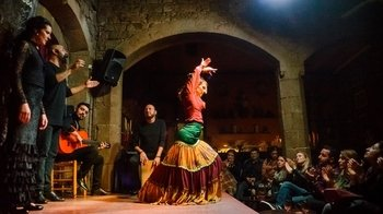 Walking tour, Flamenco show & Tapas Dinner in Born District