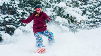 Steamboat Resort Multi-Day Snowboard Hire Package with Delivery