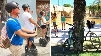 Combo 2-Wheels: Segway & Bicycle City Tour