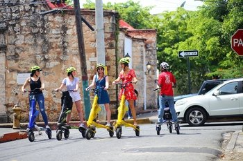 Santo Domingo Electric Trikke City Tour