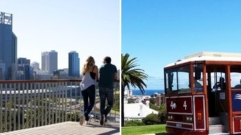 Full-Day Perth & Fremantle Tour: Lunch Cruise, Tram & Hop-On Hop-Off Bus