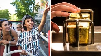 48-Hour Hop-On Hop-Off Bus Pass & Admission to the Perth Mint