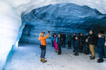 Guided Full-Day Tour of Langjökull Glacier & Ice Cave