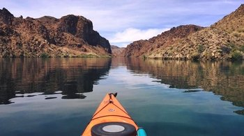 Half-Day Kayak Tour of Black Canyon with Historic Overlook