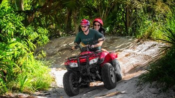 Guided Quad bike & Speedboat Tour