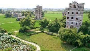 Private Tour of Kaiping Diaolou, Villages & Chikan Old Town