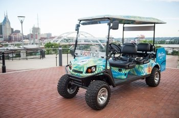 Guided Golf Cart City Tour