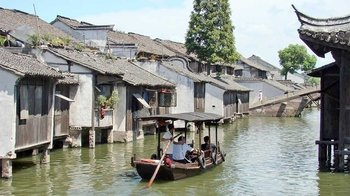 Private Full-Day Tour to Wuzhen Water Town from Hangzhou