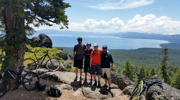 Guided Intermediate Mountain Biking Trail Ride