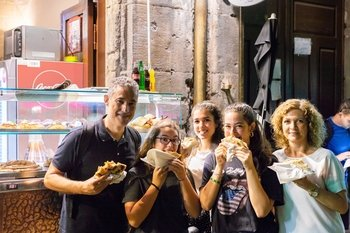 Small-Group Walking Tour of Ancient Naples with Local Street Food Tasting