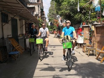 Half Day Shanghai Discovery Bicycle Tour