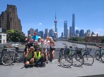 Small-Group Shanghai Highlights Discovery Bicycle Tour