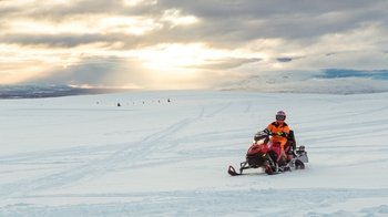 Small Group Golden Circle Super Jeep 4x4 & Snowmobiling Tour
