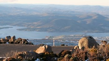 Small-Group Half-Day Mount Wellington & Tahune AirWalk Tour