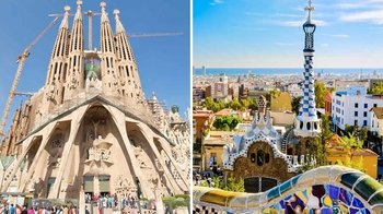 Skip-the-Line: Park Güell & Sagrada Família with Museum & Towers