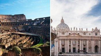,Coliseo,Colosseum,Con Vaticano