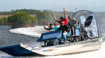 Gulf Airboat Cruise & Dolphin Quest