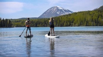 Private Kenai River Stand-Up Paddleboard Tour