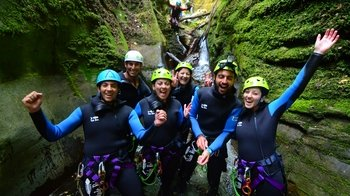 Kawarau Half-Day Canyoning Adventure