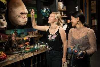There & Back Again Weta Workshop Tour